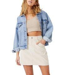 cotton on hazel cord mini skirt