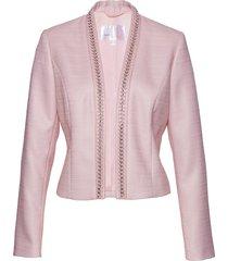 blazer corto in bouclé (viola) - bpc selection premium