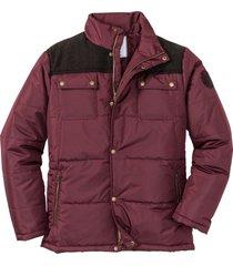giacca impermeabile imbottita (rosso) - john baner jeanswear