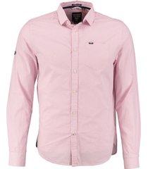 superdry roze overhemd