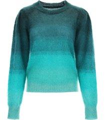 isabel marant étoile deniza sweater in mohair blend