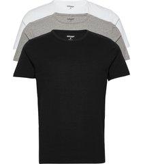 laundry tee triple t-shirts short-sleeved svart superdry