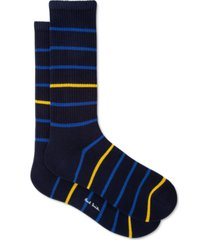 ps paul smith men's sport f stripe socks