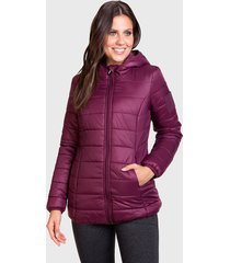 parka everlast final morado - calce regular