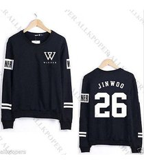 kpop winner sweater seung yoon hoodie jin woo seung hoon sweatershirt 2015