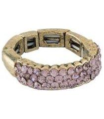 anel armazem rr bijoux dois fios strass