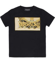 young versace cotton crew-neck t-shirt