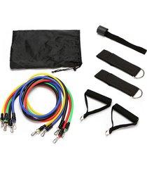 11 conjuntos de cuerda fitness tpe neutral correa de espuma de protecc
