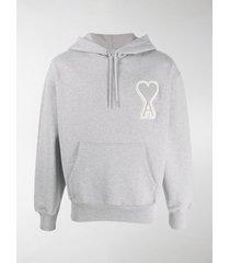 ami ami de coeur patch hoodie