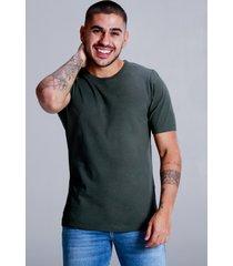 camiseta basica forest - verde - masculino - dafiti