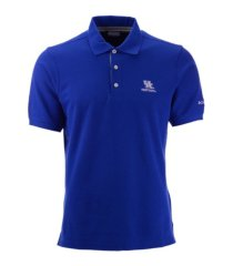 columbia kentucky wildcats men's harborside pique polo