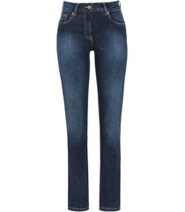 "bio-jeans ""nauw"", darkblue 42/l30"