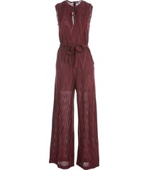 jumpsuit with belt and pockets