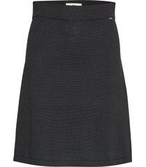chastity knitted skirt kort kjol svart lexington clothing