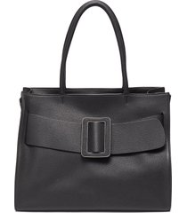 'bobby soft' oversized buckle leather tote