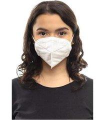 máscara descartável tripla camada com elástico