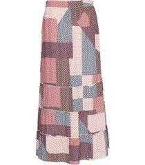 scott lång kjol multi/mönstrad stig p