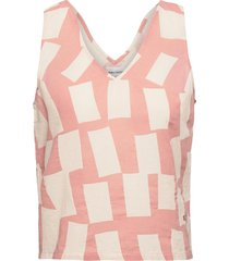shadows sleeveless top t-shirts & tops sleeveless roze bobo choses