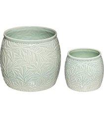 kwietnik 2 szt. doniczki ceramiczne madake