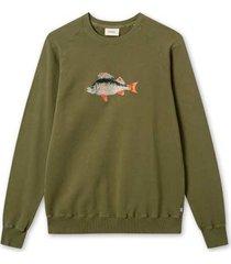 foret bait sweatshirt f102 army