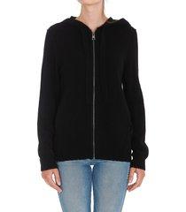 zadig & voltaire cassy star zipped hoodie