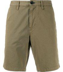 ps paul smith loose fit chino shorts - green