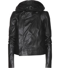 women's hooded leather jacket, womens leather jackets, leather hoodies
