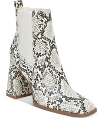circus by sam edelman women's polly block-heel chelsea booties women's shoes