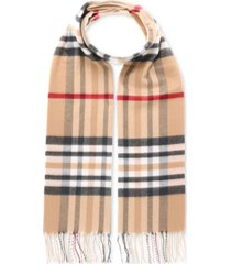 v. fraas men's exploded plaid cashmink scarf