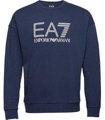 sweatshirt sweat-shirt tröja blå ea7