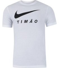 camiseta do corinthians 2019 nike - masculina - branco
