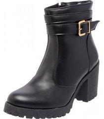 bota coturno mega boots 1405 preto