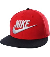 gorra nike futura-rojo
