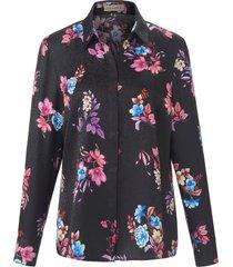 blouse 100% zijde lange mouwen van uta raasch zwart