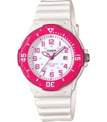 reloj casio dama modelo lrw 200h 4bv pulso en goma  original