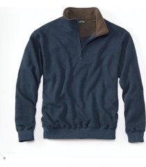 ultra-ragg zipneck sweatshirt / ultra-ragg zip neck sweatshirts, deep navy, 2xl