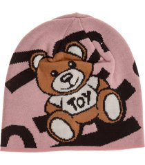 cuffia berretto donna teddy