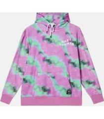 men's mike hazy summer tie dye hoodie