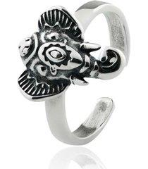 anel de prata sal do mar para falange ganesha