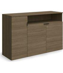 armário médio de escritório kappesberg f208 3 portas carvalho munique