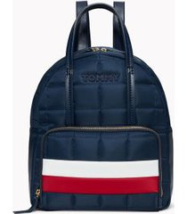 tommy hilfiger women's tommy quilted flag backpack navy/red/white -