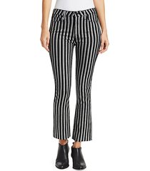 colette cropped flare pants