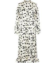 jurk luipaardprint maxi-