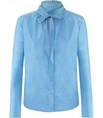 airfield - bl 549 blouse 57 241 17 780 - jeans kleur