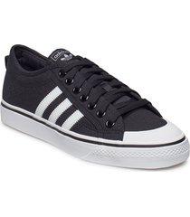 nizza låga sneakers svart adidas originals