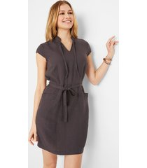 duurzame jurk van tencel™ lyocell-linnen
