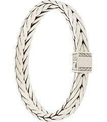 john hardy modern chain bracelet - metallic