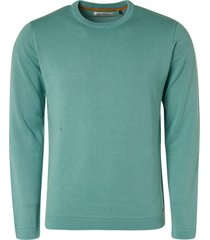 no excess pullover crewneck turquoise rf 11230102/153