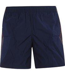 alexander mcqueen selvedge shorts