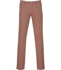 jac hensen pantalon - modern fit - rood